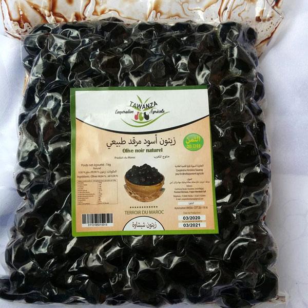 Olive noir naturel – Sachet 1